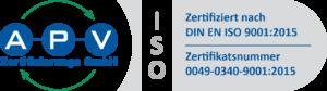 Zertifizierung nach DIN-ISO 9001-2015